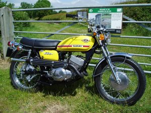 1970 Suzuki T250 II restored by New Era Restorations