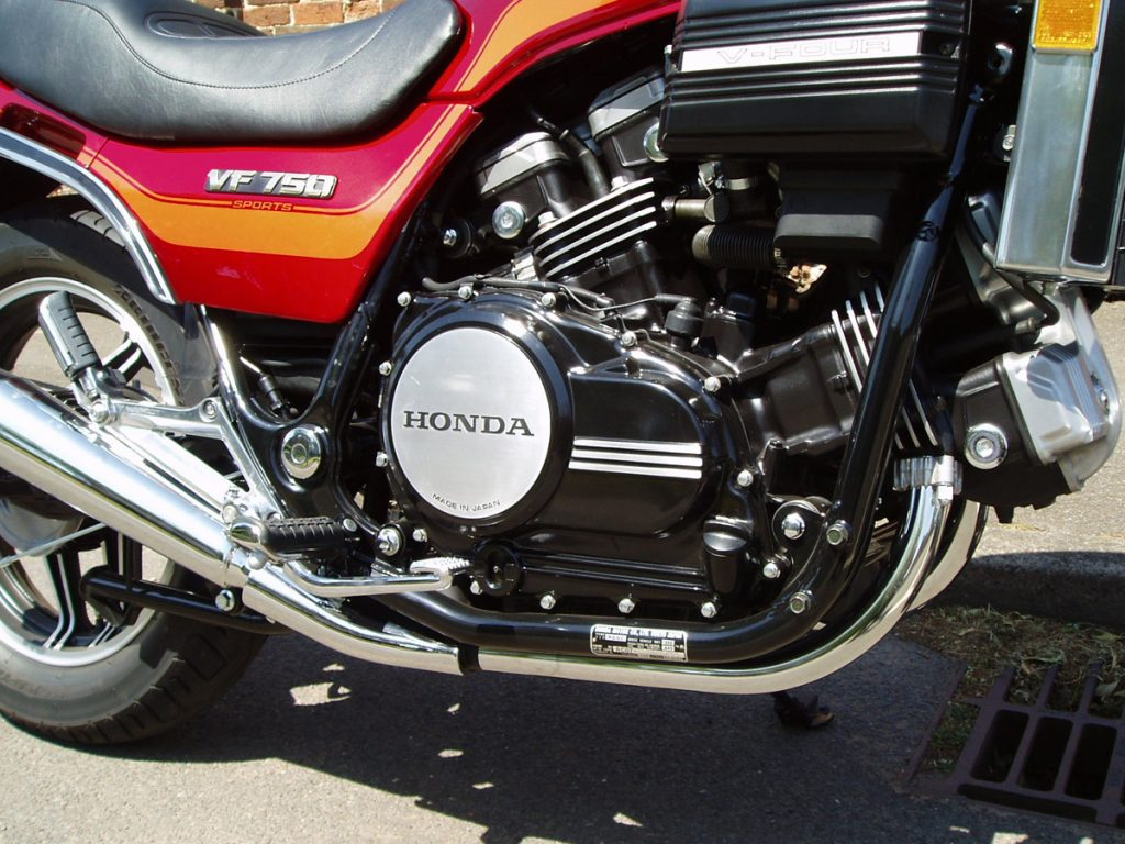 "1984 Honda VF750 ""Sabre"" restored by New Era Motorcycle Restorations, Leicestershire"