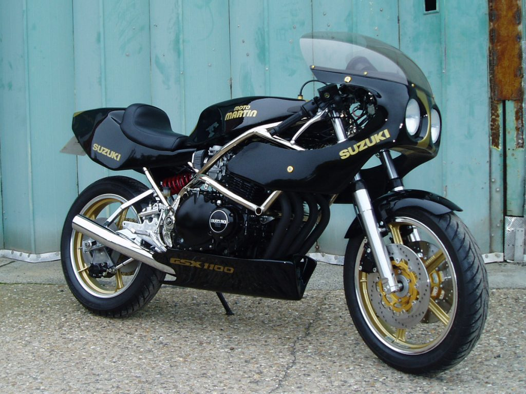 Moto Martin GSX1100 restored by New Era