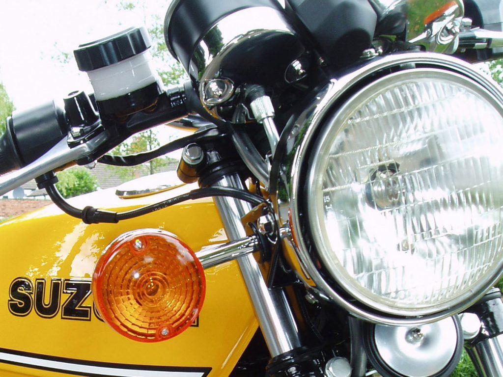 Suzuki X5 restored by New Era Restorations