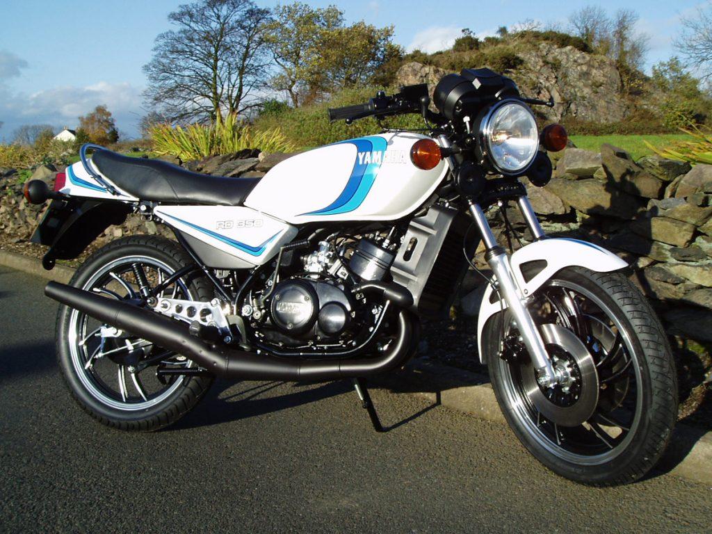 Yamaha RD350LC restoration