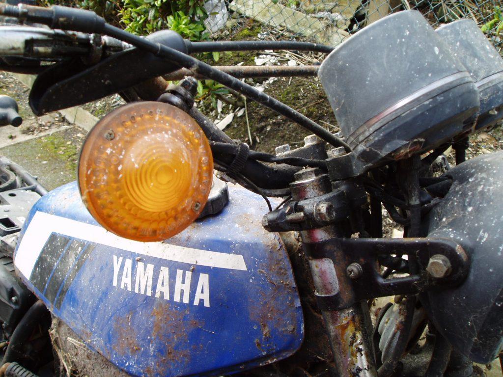 Yamaha DT175mx restored by New Era